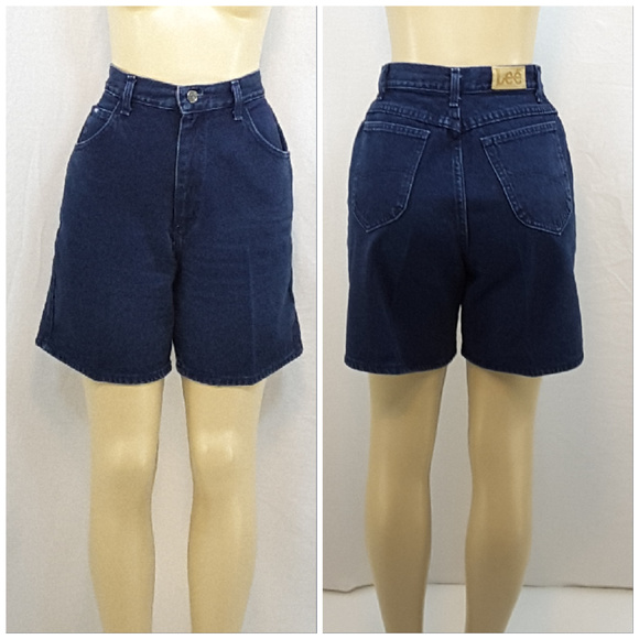LEE, High Waist Denim Shorts, size 12
